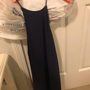 Worn once mini flow dress